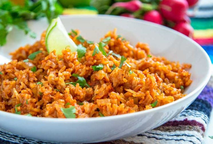 Easy And Authentic Mexican Rice Recipe For A Colorful Dinner